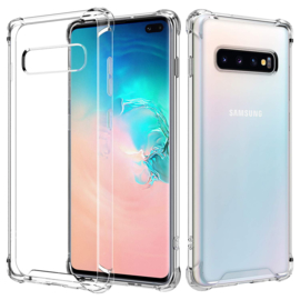 Galaxy S10 Plus Ultra Hybrid Air Bumper Case TPU + PC