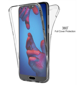 Huawei P20 360° Full Cover Transparant TPU Hoesje