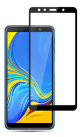 Galaxy A7 (2018) Full Cover Full Glue Tempered Glass Protector