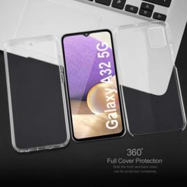 Galaxy A32 5G 360° Ultra Clear Hybrid PC + TPU Hoesje