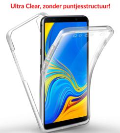 Galaxy A7 (2018) 360° Ultra Clear Hybrid PC + TPU Hoesje