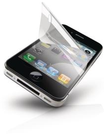 Iphone 4 / 4S Transparant Folie Protector 2 Stuks Voor + 2 Stuks Achter