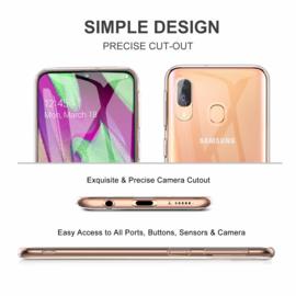 Galaxy A40 Premium Transparant Soft TPU Hoesje