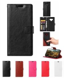 Galaxy Note 9 Leren Portemonnee Hoesje Met Pasfotovakje