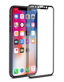 iPhone X / Xs 3D Soft Carbon Edge Tempered Glass Screen Protector
