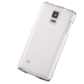 Galaxy Note 4 Soft TPU Hoesje Transparant