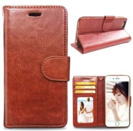iPhone 6 Plus / 6S+ Leren Portemonnee Hoesje