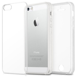 Iphone 5 / 5S / SE 360° Full Cover Transparant TPU Hoesje