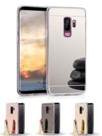 Galaxy S9 Plus TPU Bling Spiegel Hoesje 4 Kleuren