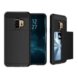 Galaxy S9 Slide Armor Hoesje Met Pashouder