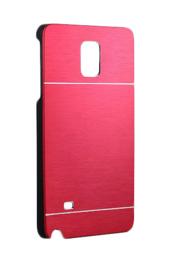 Galaxy Note 4 Motomo Metal Case Rood