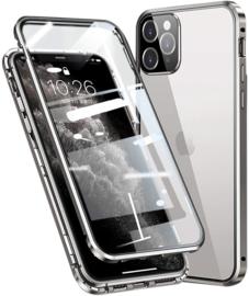 iPhone 12 / 12 Pro 360º Magnetisch Hoesje Dubbelzijdig Glas