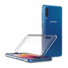 Galaxy A50 Premium Transparant Soft TPU Hoesje