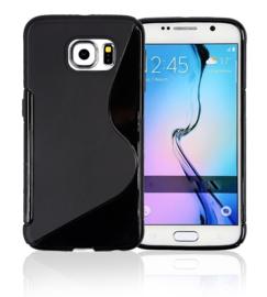 Galaxy S6 S-Line TPU Hoesje Transparant / Kleur