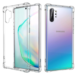 Galaxy Note 10 Plus Transparant Soft TPU Air Cushion Hoesje
