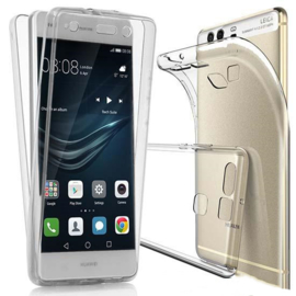 Huawei P10 Plus 360° Full Cover Transparant TPU Hoesje