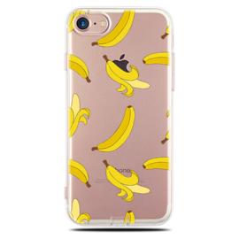 iPhone 7 / 8 Soft TPU Hoesje Banaan Print
