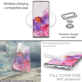 Galaxy S20 Ultra 360° Full Cover Transparant TPU Hoesje