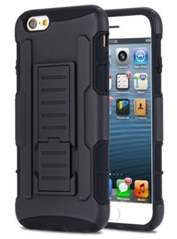 Iphone 6 / 6S Heavy Duty Tough Armor Hoesje 3 in 1