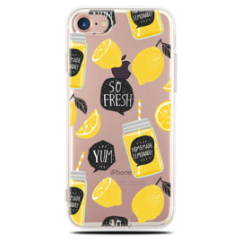 iPhone 7 / 8 Soft TPU Hoesje So Fresh Lemonade Print