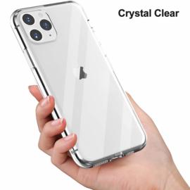 iPhone 11 Pro Max Premium Soft TPU Hoesje Transparant