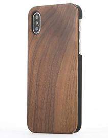 iPhone X / Xs Echt Houten Hoesje - Wood Case - 3 Houtsoorten