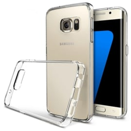 Galaxy S7 Edge Transparant Soft TPU Hoesje