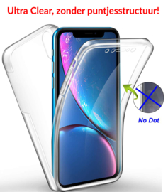 iPhone X / Xs 360° Ultra Clear Hybrid PC + TPU Hoesje