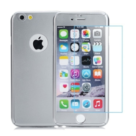 Iphone 5 / 5S / SE 360° Full Cover Case Hoesje incl. Tempered Glass