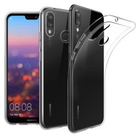 Huawei P20 Lite Premium Transparant Soft TPU Hoesje