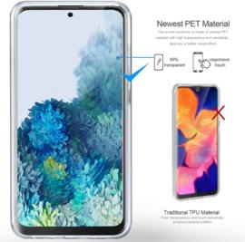 Galaxy S20 Plus 360° Ultra Clear Hybrid PC + TPU Hoesje
