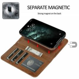 iPhone 12 / 12 Pro Uitneembaar Magnetisch Bookcase Hoesje