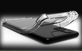 Galaxy Note 20 Transparant Soft TPU Air Cushion Hoesje