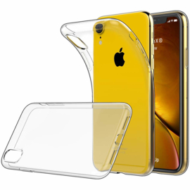 iPhone Xr Soft TPU Hoesje Transparant