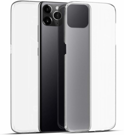 iPhone 11 Pro 360° Full Cover Transparant TPU Hoesje