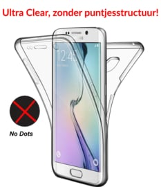 Galaxy S7 Edge 360° Ultra Clear Hybrid PC + TPU Hoesje