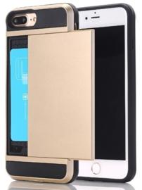 iPhone 7 Plus /  8 Plus Slide Armor Hoesje Met Pashouder