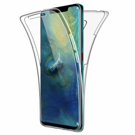 Huawei Mate 20 360° Full Cover Transparant TPU Hoesje