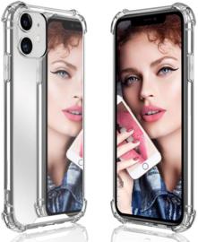iPhone 11 TPU Air Cushion Spiegel Hoesje 4 Kleuren