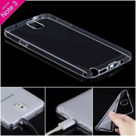 Galaxy Note 3 Soft TPU Hoesje Transparant