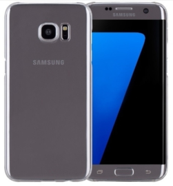 Galaxy S7 Edge Hard Case Transparant Hoesje