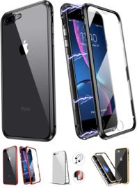 iPhone 7 Plus / 8 Plus 360° Magnetisch Hoesje Dubbelzijdig Glas