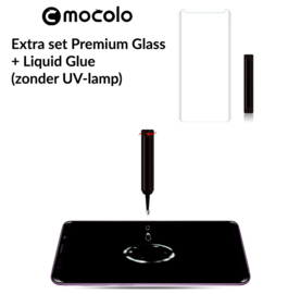 Galaxy S9 Extra Set Premium Glass + Liquid Glue
