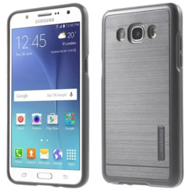 Galaxy J3 (2016) Motomo 2 in 1 Hybrid Armor Case Hoesje