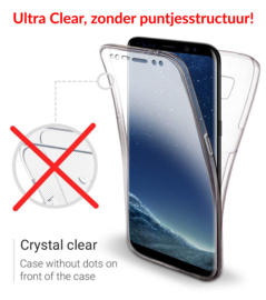 Galaxy S8 360° Ultra Clear Hybrid PC + TPU Hoesje
