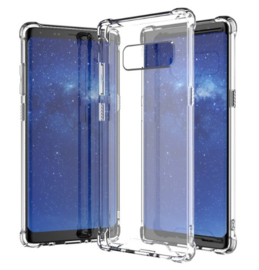 Galaxy Note 8 Transparant Soft TPU Air Cushion Hoesje