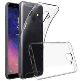 Galaxy A6 (2018) Premium Transparant Soft TPU Hoesje