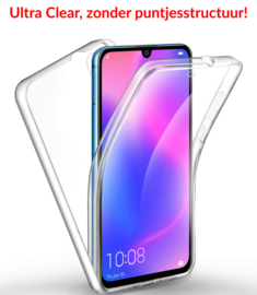 Huawei P30 360° Ultra Clear Hybrid PC + TPU Hoesje