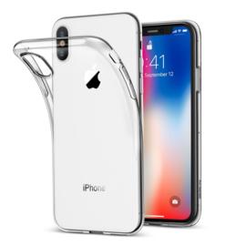 iPhone X / Xs Soft TPU Hoesje Transparant