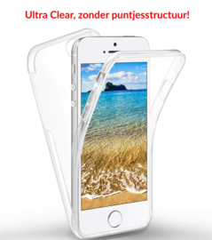 iPhone 5 / 5S / SE 360° Ultra Clear Hybrid PC + TPU Hoesje